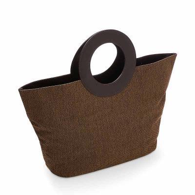 Secoli Brindes - Sacola ampla, ideal para transportar muitos itens com elegância e praticidade.