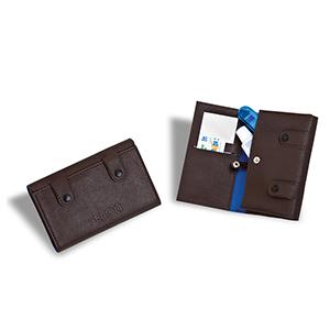 Secoli Brindes - Nécessaire para kit bucal com bolso para escova, creme dental, fio dental e espelho.