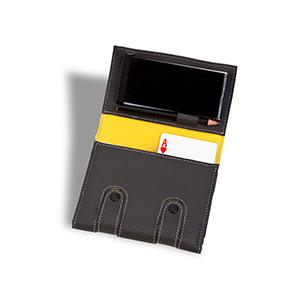 Secoli Brindes - Kit jogos com bloco de anotações e porta caneta/lápis.