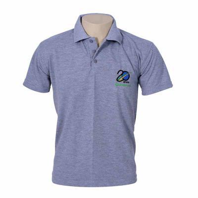Camisa Gola Polo manga curta, personalizada com a logomarca da sua empresa. Diversas cores e tecidos disponíveis. - Bonifor Brindes