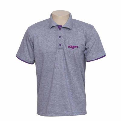 Camisa Gola Polo manga curta, personalizada com a logomarca da sua empresa. Diversas cores e tecidos disponíveis.