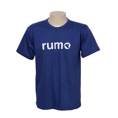 Camisetas Gola redonda, manga curta. Personalizadas em Silk screen, bordado ou Sublimação. - Bonifor Brindes