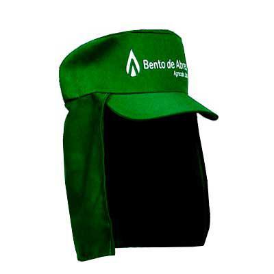 bonifor-brindes - Touca para cortador de cana, touca para trabalhadores rurais com pano de proteção no pescoço.