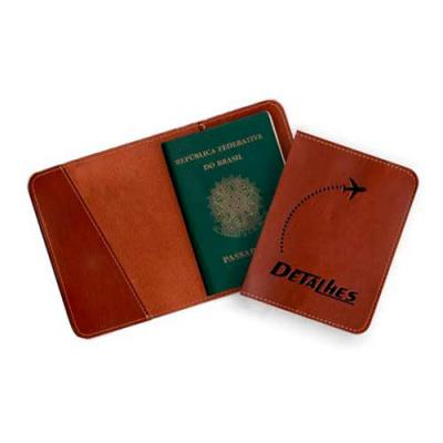 Detalhes Brindes - Porta Passaporte – PP6