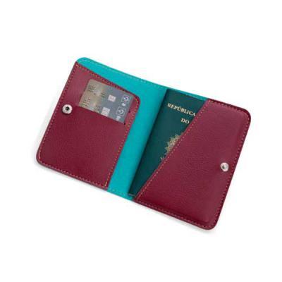 Porta Passaporte - PP7 - Detalhes Brindes