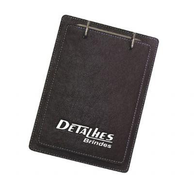 Detalhes Brindes - Porta bloco personalizado de mesa.
