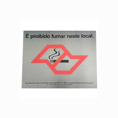 Placa de sinalização - Parceria