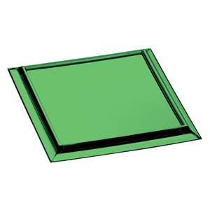 Descanso de copo no formato quadrado, confeccionado em acrílico. - Kos Acrílicos