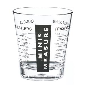Kos Acrílicos - Mini copo com medidor, confeccionado em Acrílico. Capacidade 50 ml.