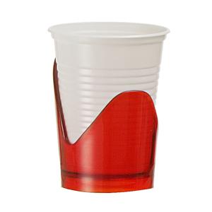Kos Acrílicos - Porta copo confeccionado em acrílico. Capacidade 200 ml.
