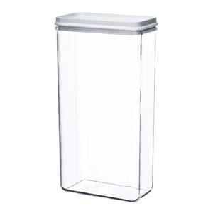 Kos Acrílicos - Porta mantimento alto, confeccionado em acrílico. Com 3 unidades.