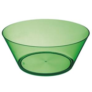 Saladeira confeccionada em acrílico. Capacidade 3.300 ml.