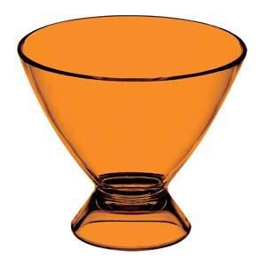 Taça sobremesa pequena confeccionada em acrílico. Capacidade 250 ml. - Kos Acrílicos
