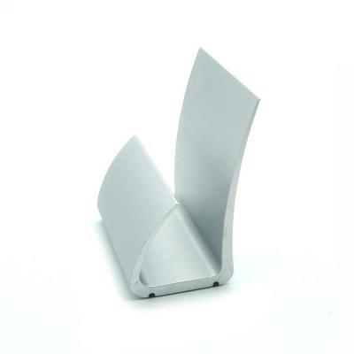 Crazy Ideas - Porta cartão em alumínio anodizado prata com borracha antiderrapante na base. Design simples e funcional. Já inclusa embalagem individual em papel car...