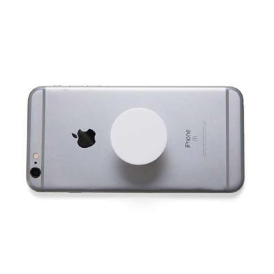 """Crazy Ideas - Suporte plástico para celular. Material plástico colorido, possui """"disco"""" anelar retrátil que ao puxá-lo abrirá o encaixe para os dedos e possibilitar..."""