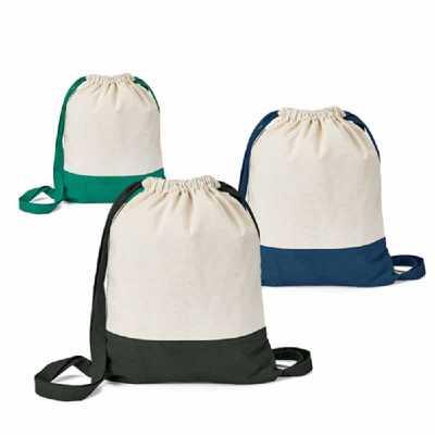 Crazy Ideas - Sacola tipo mochila. 100% algodão canvas: 180 g/m². 350 x 430 mm.