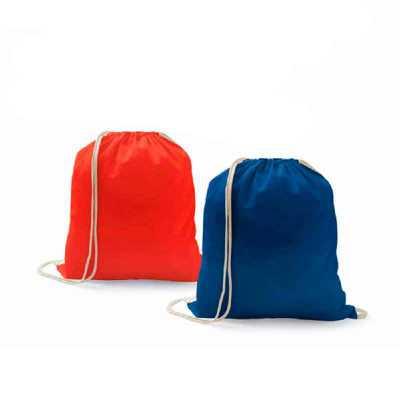 Crazy Ideas - Sacola tipo mochila. 100% algodão: 100 g/m². 370 x 410 mm.