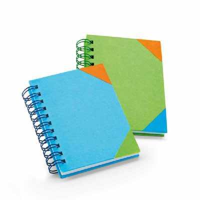 Crazy Ideas - Caderno. Cartão. 60 folhas pautadas brancas. 80 x 100 mm
