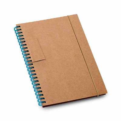 Crazy Ideas - Caderno. Cartão. Capa dura. Com 60 folhas pautadas de papel reciclado. Esferográfica não inclusa. 140 x 180 mm.