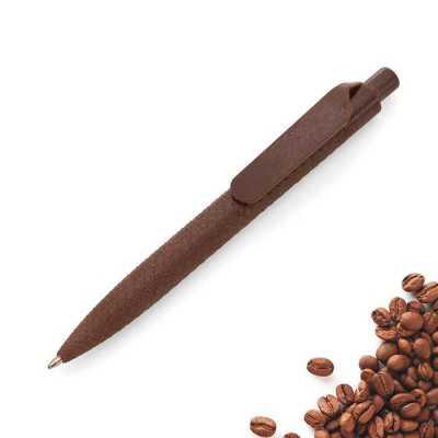 Caneta Personalizada biodegradável com aroma de café