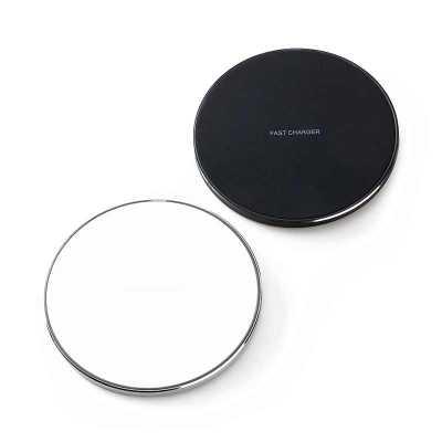 Carregador wireless por indução em formato de disco