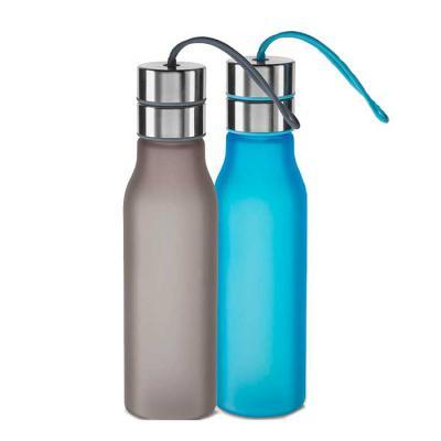 Garrafa plástica 600 ml com filtro personalizada