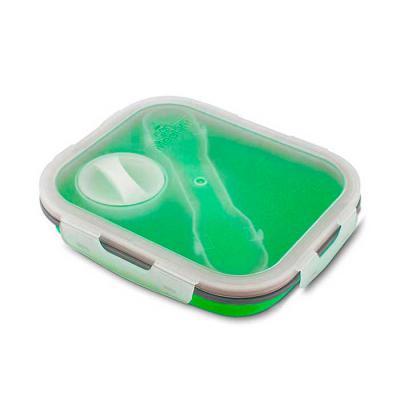 Crazy Ideas - Lancheira Silicone e PP (Polipropileno) Com 03 compartimentos. Dimensão do Produto: 27x11,5x6,5cm.