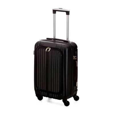 Crazy Ideas - Mala de viagem com rodinha, Compartimento externo com três bolsos, e abertura com ziper para acesso ao interior da mala, Rodinhas com giro de 360º, Al...