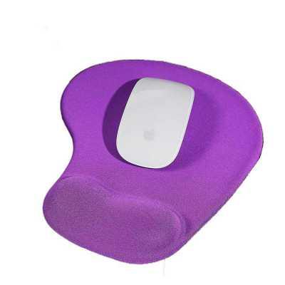 Mouse Pad ergonômico de neoprene com apoio para o punho de silicone