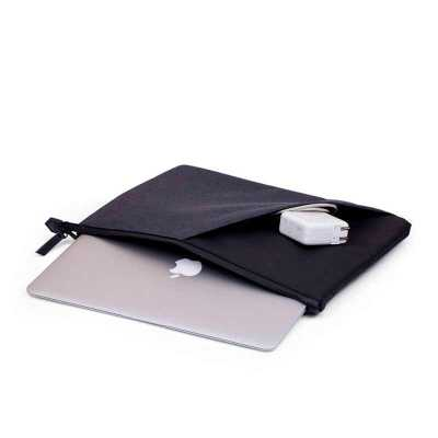 crazy-ideas - Pasta para Notebook, bolso externo, tecido poliéster.