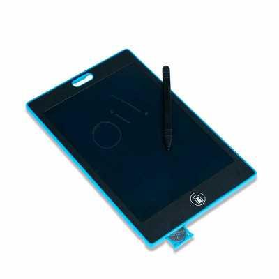 Tablet para anotações com tela lcd e caneta plástica. Tablet plástico com tela de 8,5 polegadas, ...