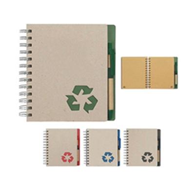 Bloco de anotações ecológico em espiral. - Crazy Ideas