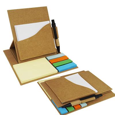 crazy-ideas - Bloco de anotações ecológico dobrável.