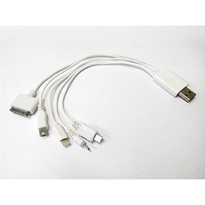 crazy-ideas - Cabo conector USB com 5 portas de conexão.