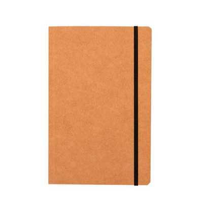 Caderneta com páginas quadriculadas