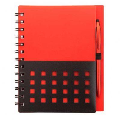 Caderno personalizado em dois tons, 80 páginas pautadas