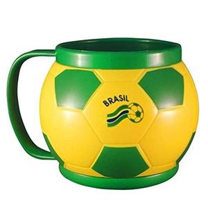 crazy-ideas - Caneca em formato de bola de futebol.
