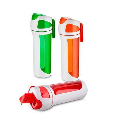 Crazy Ideas - Garrafa plástica 550 ml com alça de mão