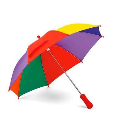 Guarda-chuva para criança. Poliéster. Pega em EVA. ø680x550 mm.
