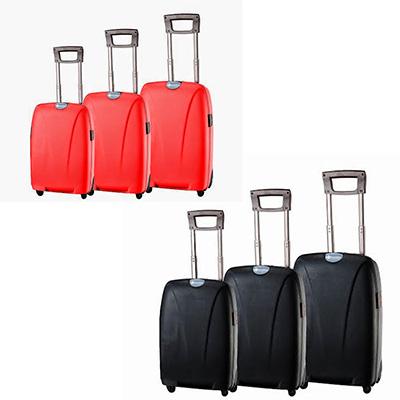 Crazy Ideas - Conjunto de malas de viagem personalizadas em 3 tamanhos diferentes.