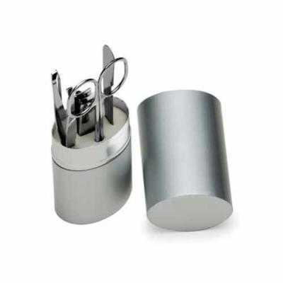 Conjunto manicure em tubo de alumínio
