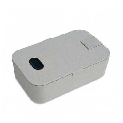 crazy-ideas - Marmita plástica com suporte para celular e divisória interna