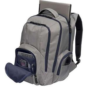 mochila com compartimento para livros e pastas.Dois bolsos laterais ideais para garrafas de água.Alças acolchoadasMaterial: Nylon