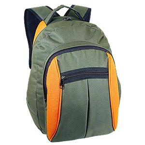 Crazy Ideas - Mochila personalizada em poliéster 600 com 2 bolsos frontais - Medidas: 34 x 45 x 18,5 cm.