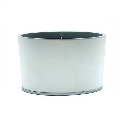 Crazy Ideas - Porta Caneta em alumínio anodizado prata com base plástica na cor prata com borracha preta antiderrapante. Já inclusa embalagem individual em papel ca...