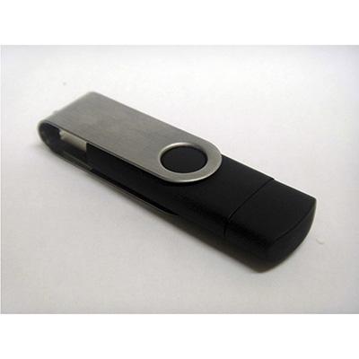 crazy-ideas - Pen drive personalizado com capa protetora em metal.