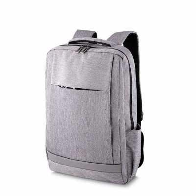 Mochila para Notebook, tecido poliéster, bolso central com porta notebook, mais três bolsos inter...