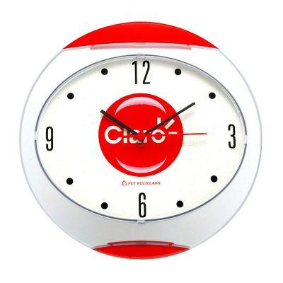 Unibrindes - Relógio de parede oval