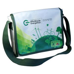87545a0f5 Bolsa carteiro ecológica horizontal personalizada em lona de algodão cru  (artigo 490 gr / m²