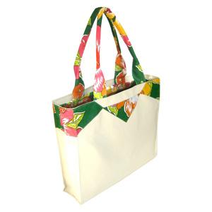 Ecofábrica - Bolsa / Ecobag ecológica personalizada em lona de algodão cru (artigo 390 gr / m²) forrada - Bolso interno com acesso livre.